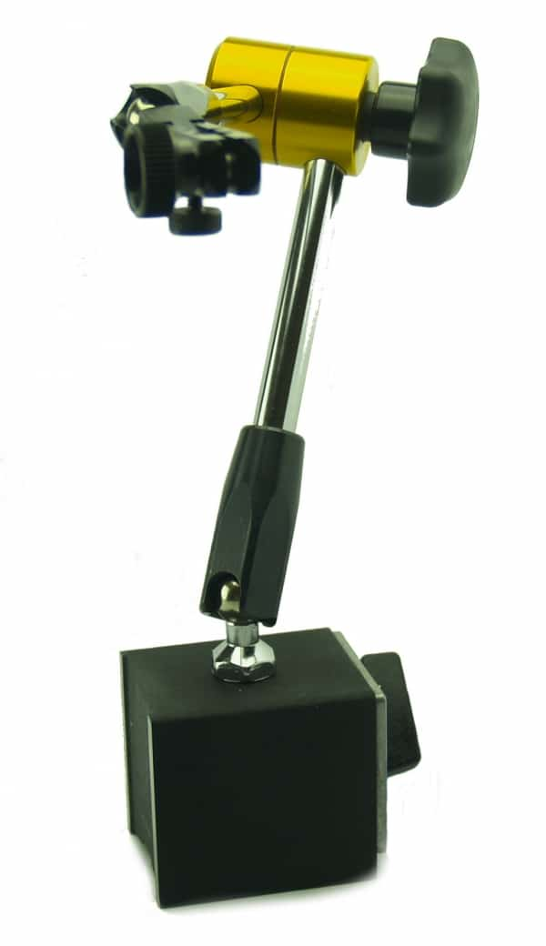Magnetic stand universal with fine adjustment