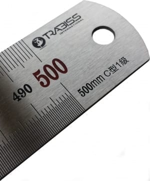 Stainless steel ruler 500 mm