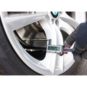 iGaging digital brake rotor caliper with long measuring pen