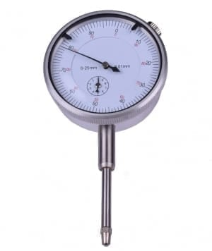Analog dial indicator 0-25mm