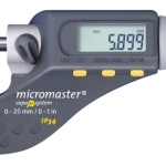 Tesa Micromaster Micrometer with Two Spherical Measuring Faces