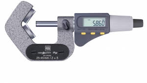 Tesa Micromaster IP54 Micrometer with Prismatic Measuring Faces