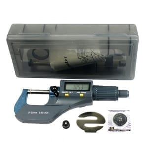iGaging IP65 digitale en analoge micrometer