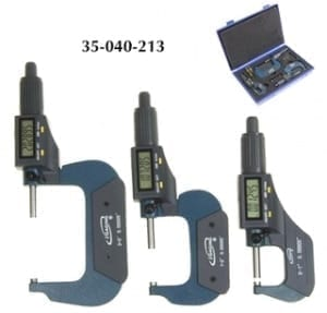 iGaging digital micrometer set