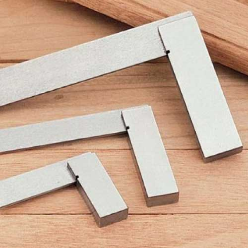 "iGaging Set of 3 squares with heavy beam 2"" 50mm , 4″ 100mm en 6"" 150mm"