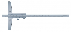 Tesa Vernier depth Caliper with a Flat Measuring Face