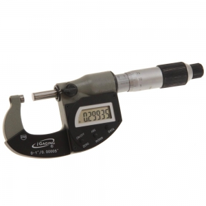 iGaging IP65 digital and analogue micrometer