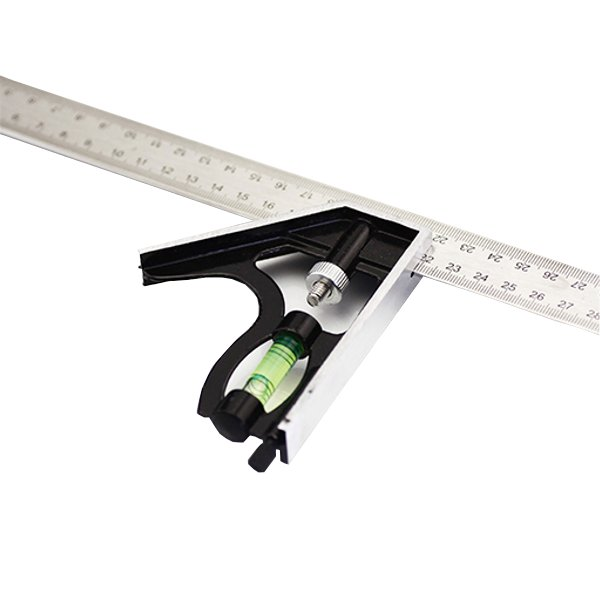 300 mm Square with removable ruler