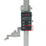 Digital height gauge battery cover